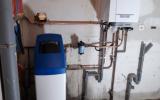 Mise en place d'une chaudière gaz à condensation