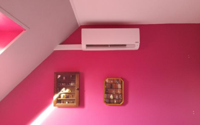 Mise en place d'une pompe à chaleur air/air